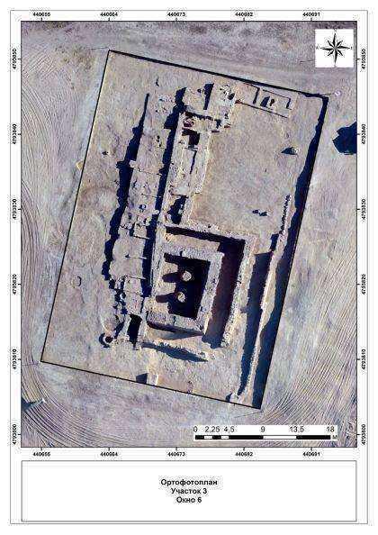 В городище Культобе найдено уникальное сооружение - древняя ханака