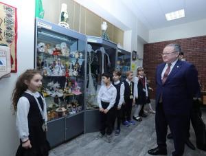 Ондасын Уразалин посетил музей имени Алии Молдагуловой в г. Москва
