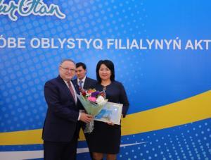 Партийный актив филиала «Nur Оtan» по обсуждению поручений Елбасы прошел в Актюбинской области