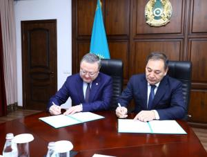 Акимат Актюбинской области и Федерация профсоюзов РК подписали меморандум о сотрудничестве