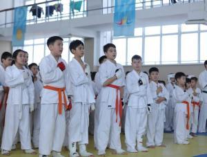 В Актюбинской области стартовал открытый чемпионат по киокушинкай-кан каратэ