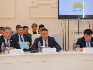 Аким области Ондасын Уразалин принял участие в расширенном заседании АОФ партии«Nur Otan»