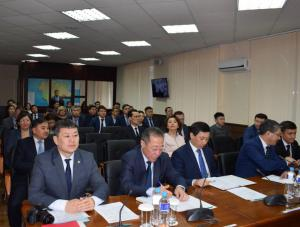 В акимате области состоялось заседание региональной кадровой комиссии