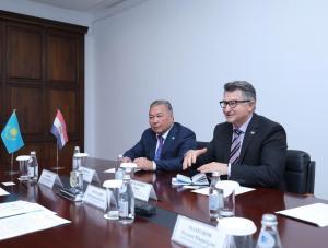 Актюбинская область усилит сотрудничество с Хорватией