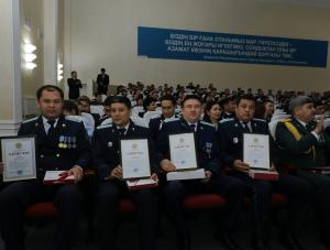 Актюбинские прокуроры отметили профессиональный праздник