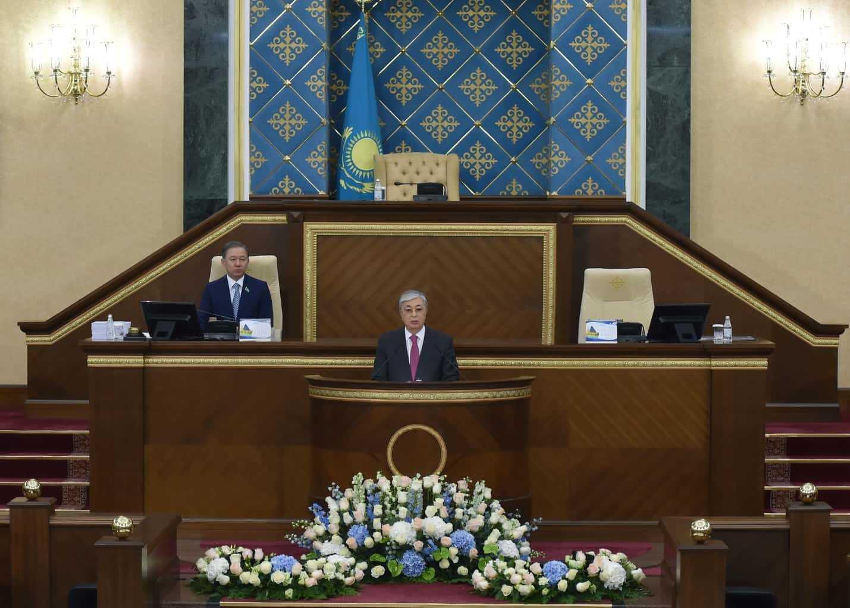 Послание президента Касым-Жомарт Токавева народу Казахстана