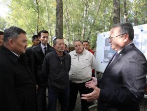 В Актюбинской области решается проблема изношенного жилищного фонда