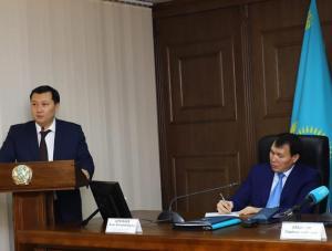 Председатель Агентства РК по противодействию коррупции РК Алик Шпекбаев встретился с активом Актюбинской области