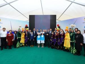 В Актюбинской области введена в эксплуатацию ветроэлектростанция мощностью 48 МВт