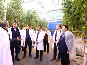 Алик Шпекбаев посетил «Green Capital Kazakhstan»