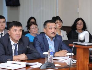 Под председательством руководителя аппарата акима области Нуржаугана Калауова прошло совещание