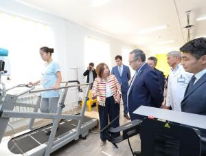 Ондасын Уразалин посетил детский реабилитационный центр «Аяла»
