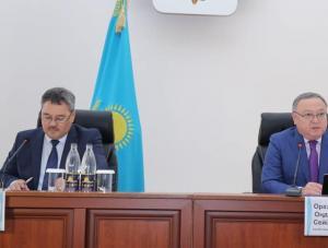 В Актобе обсудили темпы развития областного центра