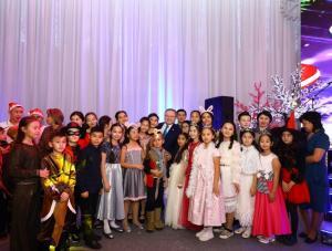 Ондасын Уразалин поздравил одаренных детей с Новым годом